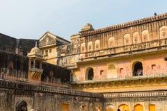 Amber Palace, état de Jaipur, Ràjasthàn, Inde Photographie stock