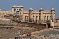Amber Palace av Jaipur i Indien royaltyfri fotografi