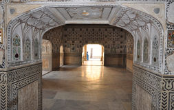 Amber Palace Jaipur India Royalty Free Stock Photography