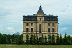 Amber Palace, Wloclawek, Poland. Historic palace in central Poland Royalty Free Stock Images