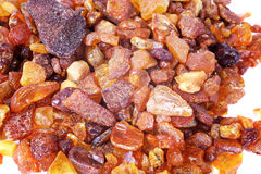 Amber pebbles stock photos
