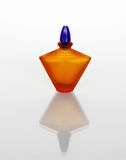 Amber Perfume Bottle Royalty Free Stock Images