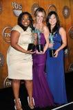 Amber Riley,Jenna Ushkowitz,Jessalyn Gilsig Stock Image