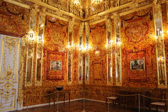 Amber Room Stock Photo