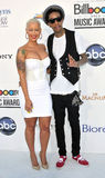 Amber Rose, Whiz Khalifa arrives at the 2012 Billboard Awards Stock Photo