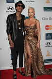 Amber Rose, Wiz Khalifa Stock Photo