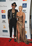 Amber Rose, Wiz Khalifa Stock Photos