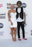 Amber Rose, Wiz Khalifa  Royalty Free Stock Image