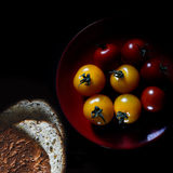 Amber & Rosso Tomatoes Stock Image