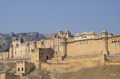 Amber`s fort India the city of Jaipur Stock Photo