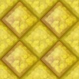 Amber seamless pattern Stock Image