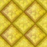Amber seamless pattern Stock Image