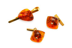 Amber set Stock Photography
