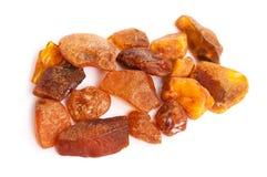 Amber stone Stock Image