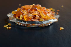 Amber stones from Baltic Sea Royalty Free Stock Photography