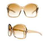 Amber sunglasses Royalty Free Stock Photo