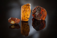 Amber - Sunstone Royalty Free Stock Photos