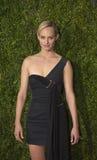 Amber Valletta Arrives bij 2015 Tony Awards Stock Foto