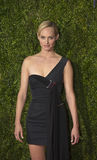 Amber Valletta Arrives at the 2015 Tony Awards Stock Photo