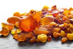 Amber van de Oostzee stock afbeelding