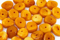 Amberagathesparels stock fotografie