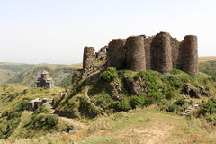 Amberd Fortress Royalty Free Stock Photos