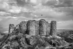 Amberd Fortress . Royalty Free Stock Images