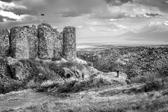 Amberd Fortress . Stock Photography