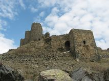 Amberd Schloss, Armenien Stockfotos