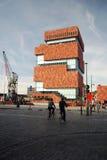 El museo del MAS en Amberes Imagenes de archivo