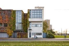 Amberes, BÉLGICA - octubre de 2016: Casa de Guiette diseñada por Le Co Imágenes de archivo libres de regalías