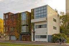 Amberes, BÉLGICA - octubre de 2016: Casa de Guiette diseñada por Le Co Foto de archivo