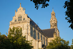 Amberes - iglesia del St. Pauls (Paulskerk) imagen de archivo