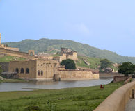 Amberfort, India. Stock Fotografie