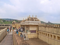 Amberfort, India. Stock Foto
