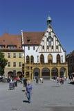 Amberg, ayuntamiento Fotos de archivo libres de regalías