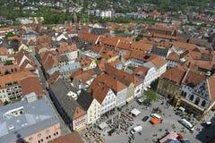 Amberg, ciudad histórica Fotografía de archivo