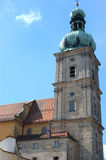 Amberg, Mariahilfkirche (Marias help church) Royalty Free Stock Images