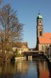 Amberg, Martinskirche (Martins church) Stock Images