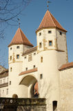 Amberg, Nabburger Tor (Nabburgs gate) Royalty Free Stock Photo