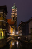 Amberg at night Stock Photos