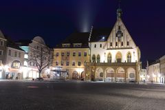 Amberg at night Stock Photography