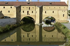 Amberg, Stadtschauspiele Lizenzfreies Stockbild