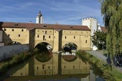 Amberg, Stadtschauspiele Lizenzfreies Stockfoto