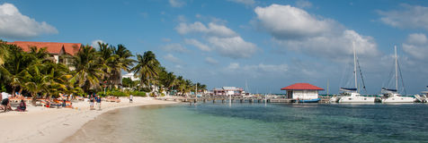 Ambergris Caye Royalty Free Stock Photo