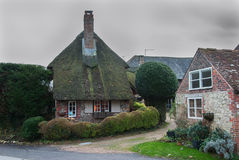 Amberley. Buildings in Amberley in England Stock Image