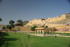 Ambert fort, Rajasthan. The fort of Amber in Rajasthan, India Stock Image