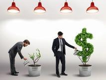 Ambição e habilidade de um homem de negócios rendição 3d Imagem de Stock Royalty Free