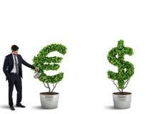Ambição e habilidade de um homem de negócios rendição 3d Foto de Stock Royalty Free
