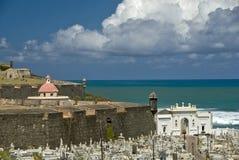 Ambiência velha de San Juan Imagem de Stock
